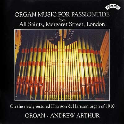 Organ Music for Passiontide